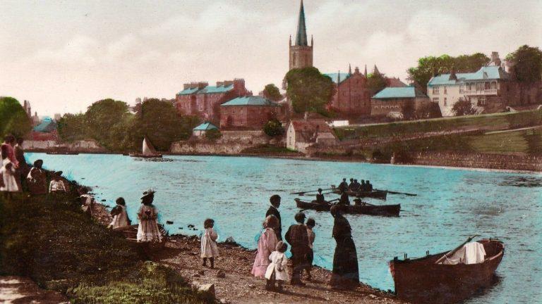 Sligo Riverside Postcard